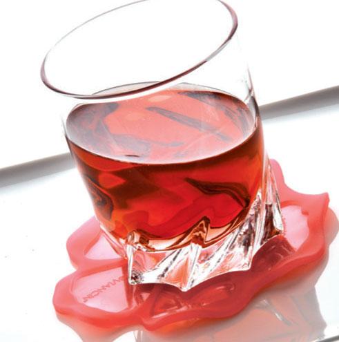 Hibiscus Drink Coaster