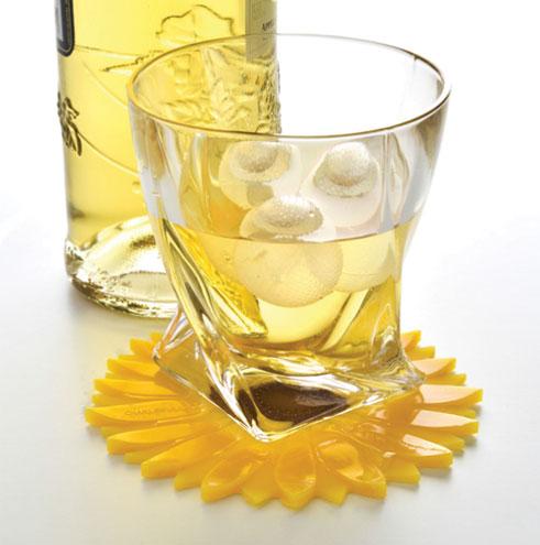 Sunflower Drink Coaster