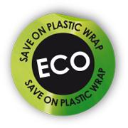 save on plastic wrap