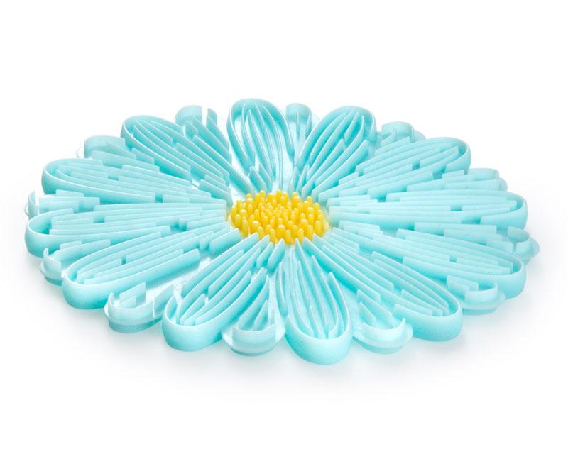 Daisy Aqua Trivet